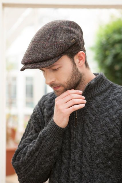 Homme Casquette Kerry wool