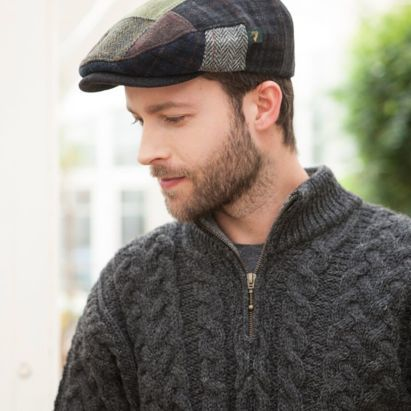 Homme Casquette Patch wool