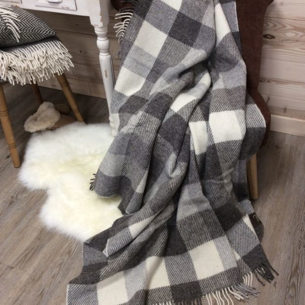 MAISON Couverture plaid Jacob collection
