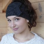 Les Duos Duo Headband charcoal
