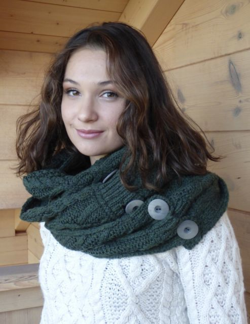 "Accessoires New snood ""super soft merino wool"""