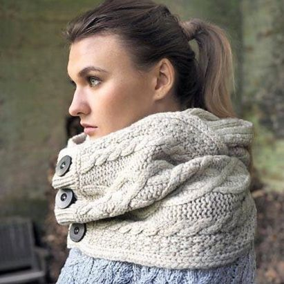 "Accessoires New snood ""super soft mérino wool"""