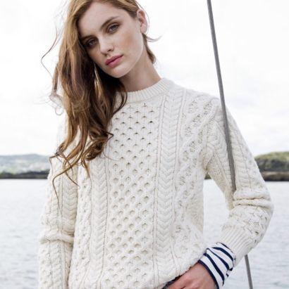 pas cher pour réduction 7ceb2 f8402 Pulls et gilets femme en pure laine. Fabriqué en Irlande ...