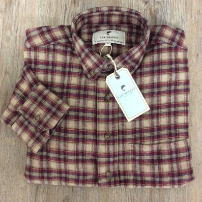 Polos, chemises ect... Traditional flannel classic collar