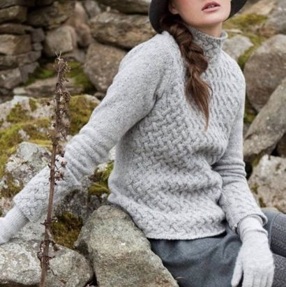 LUXE IRELAND Treillis sweater