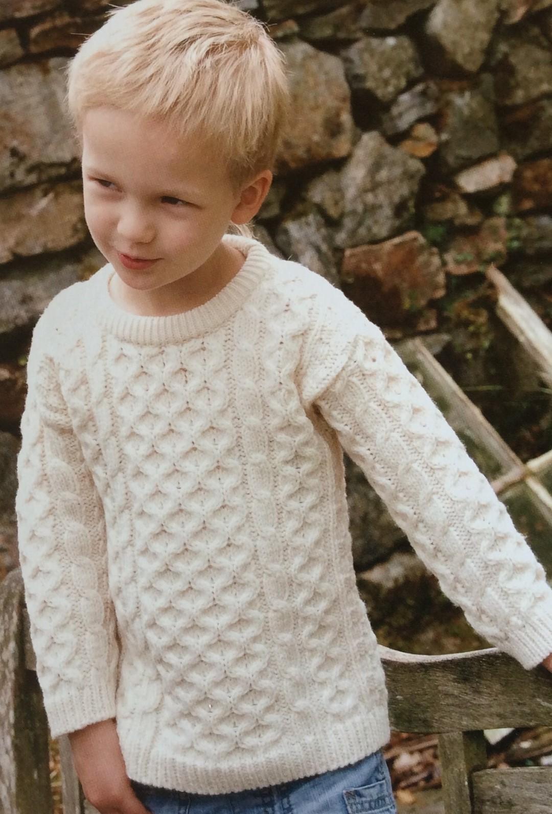 ffc6ff6029d39 Pull traditionnel irlandais pour enfants